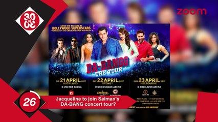 Jacqueline Fernandes To Join Salman Khan's DA-BANG Tour, Shah Rukh Khan Posts A Heartwarming Message On Women's Day
