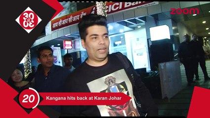 Kangana Hits Back At Karan Johar, Akshay & Twinkle's Dinner Date