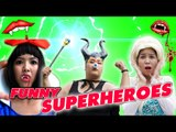 VAMPIRE Frozen Elsa! w/ Spiderman Frozen Anna Snow White Maleficent I FUNNY SUPERHEROES