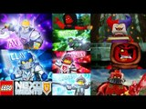 LEGO Nexo Knights Merlock 2.0 - All Knights vs All Lavalands Bosses (323 NEXO POWERS)
