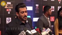 SALMAN KHAN ATTENDED STAR STUDDED RED CARPET OF ZEE CINE AWARDS 2017