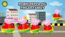 Peppa Pig Super Heroes FINGER FAMILY SONG ♥Toy Nursery Rhyme♥ Lyrics Kids Songs Baby Songs