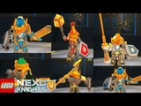 LEGO Nexo Knights Merlock 2.0 - New Updated All Nexo Knights Lv6 Updated (323 Nexo Powers)