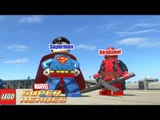 Spiderman, Ironman, Superman, Batman, Deadpool X-Force - LEGO Marvel Super Heroes MOD