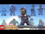 Zombie Heroes Spider-Man, Deadpool, Iron Man, Captain America vs Hulk in LEGO Marvel Super Heroes