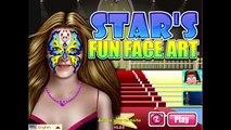 ᴴᴰ ♥♥♥ игры знаменитости звезды кино Веселые лица Арт-детские видео игры для детей