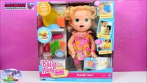 Potty Training Baby Alive Super Snacks Snackin Sara Poops + Feed Doh Food Doll - Toy Play