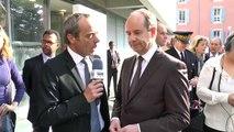 En visite à Digne-les-Bains , le Garde des Sceaux réagit à la mise en examen de François Fillon