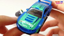 Tomica Hot Wheels Ford Mustang Vs Honda CRZ Safety Kids Cars Toys Videos HD Collection
