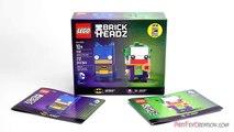 Lego DC Comics BRICKHEADZ Batman & The Joker 41491 Stop Motion Build Review