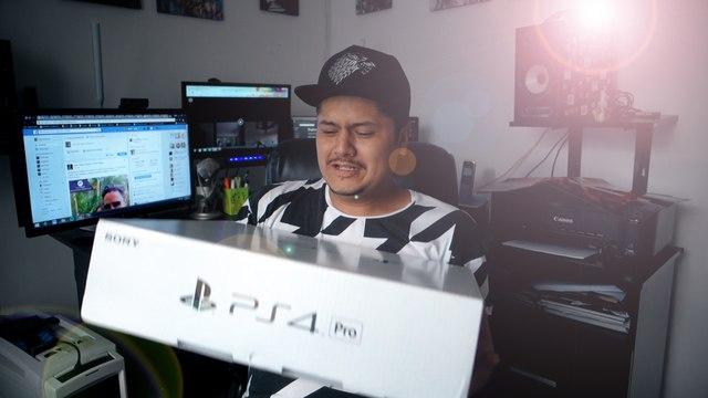 UNBOXING PS4 PRO
