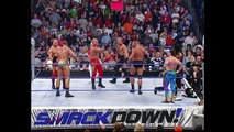 Eddie Guerrero, Booker T vs Rob Van Dam, Rey Mysterio vs The Basham Brothers vs Mark Jindrak, Luther Reigns Tag Team Titles Match SmackDown 01.13.2005