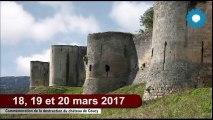 Aisne 2017 : Centenaire de la destruction du château de Coucy - 18 et 19 mars 2017