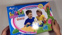 PLAYING WITH KINETIC SAND !! How To Make Sandcastles Fun! Magic Sand Toys Review - Easy Le