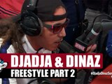 Djadja & Dinaz freestyle [Part. 2] #PlanèteRap