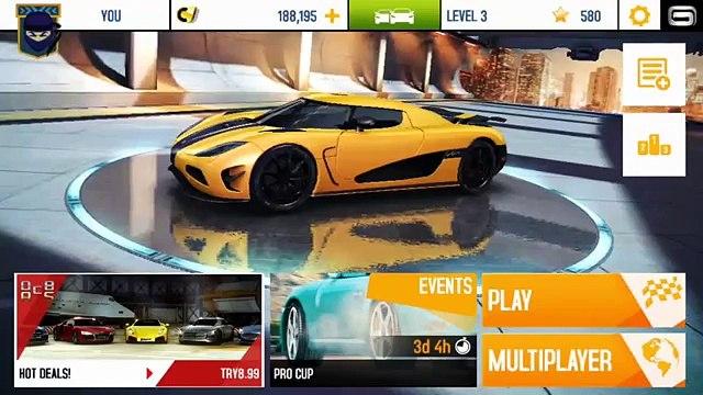 ASPHALT 8 | Pagani Zonda R versus Sesto Elemento (iOS/iPad Gameplay) | Asphalt 8: Airborne