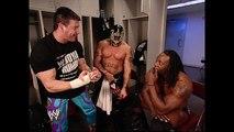 Eddie Guerrero, Rey Mysterio, Booker T Backstage SmackDown 01.27.2005