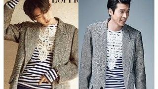 Lee Jong Suk vs. Hyun Bin: Fashion showdown