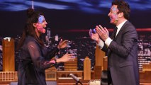 Priyanka Chopra Plays Holi with Jimmy Fallon on Tonight Show