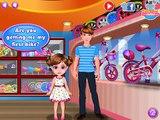 Linda Niña Primera Bicicleta | Divertido Juegos de Chicas Videos de Bicicletas, Juegos para Niños