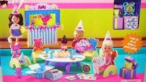Fiestas de Cumpleaños de Las Bebes de Elsa, Ana y Ariel - Recopilacion de Fiestas Infantil