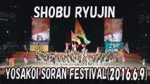 【YOSAKOI SORAN DANCE】SHOBU RYUJIN 2016.6.9 YOSAKOI SORAN FESTIVAL