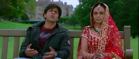 Kabhi Alvida Naa Kehna - Shahrukh & Rani Mukherjee First Meeting on Bench With Title Sad Song 2 - HQ