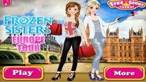 Замороженные европа европа замороженный замороженные Игры игра играть сестры сестра тур