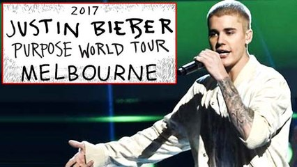 Justin Bieber PERFORMS Purpose World Tour In Melbourne  FULL VIDEO