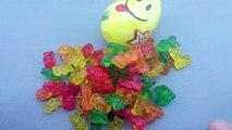 Узнайте цвета с Добрее радость сюрприз яйца | Добрее радость сюрприз яйца | пластилин моделирование