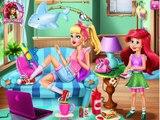 Детка дисней Принцесса мультфильм Детка няня шалость Детка видео Игры