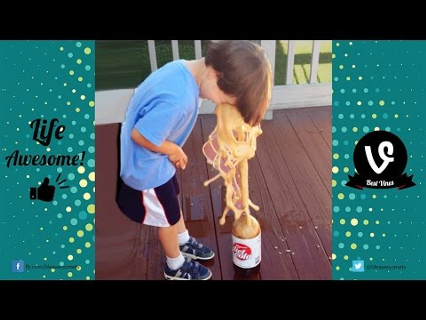 TRY NOT TO LAUGH - Funny Kids Vines Compilation 2016 | Funniest Kids Videos - by Life Awesome