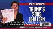 Voici le montant des impôts payés par Donald Trump en 2005