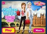 Замороженные европа замороженные Игры игра играть сестры сестра тур европа