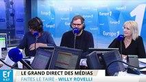 """Willy Rovelli : """"Éric et Quentin, vous êtes un peu à l'humour ce que François et Penelope sont à la mise en examen"""""""