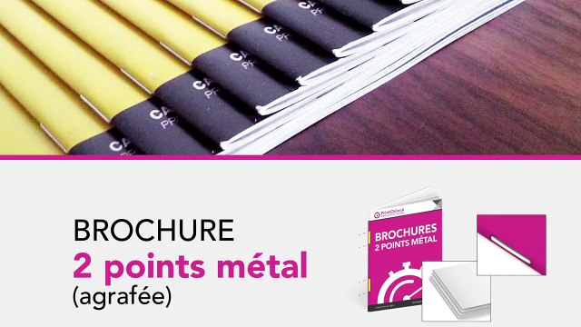 Vos impressions de brochures - PrintOclock Imprimerie en Ligne