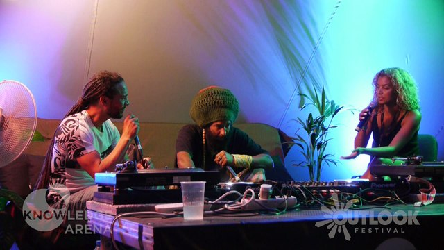 Knowledge Arena: Congo Natty & Roni Size - Outlook Festival 2016