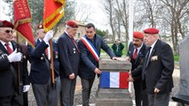 Inauguration de la stèle Parachutistes à Agde le 3 mars 2017