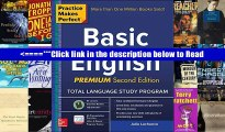 Download Practice Makes Perfect Basic English, Second Edition: (Beginner) 250 Exercises + 40 Audio
