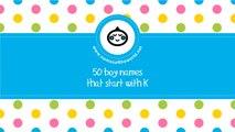 50 boy names that start with K - the best baby names - www.namesoftheworld.net