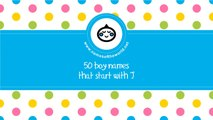 50 boy names that start with J - the best baby names - www.namesoftheworld.net