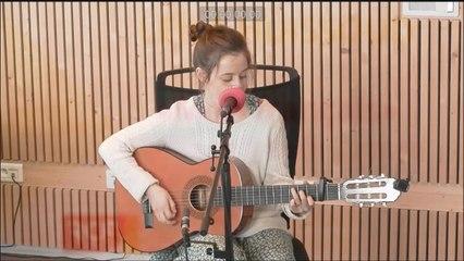 Leïla Huissoud en live dans nos studios dans Les midis RCF