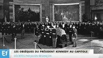 Les obsèques du président Kennedy au Capitole, décrites par Julien Besançon