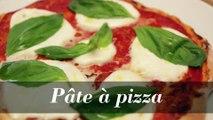 Pâte à pizza : la recette facile