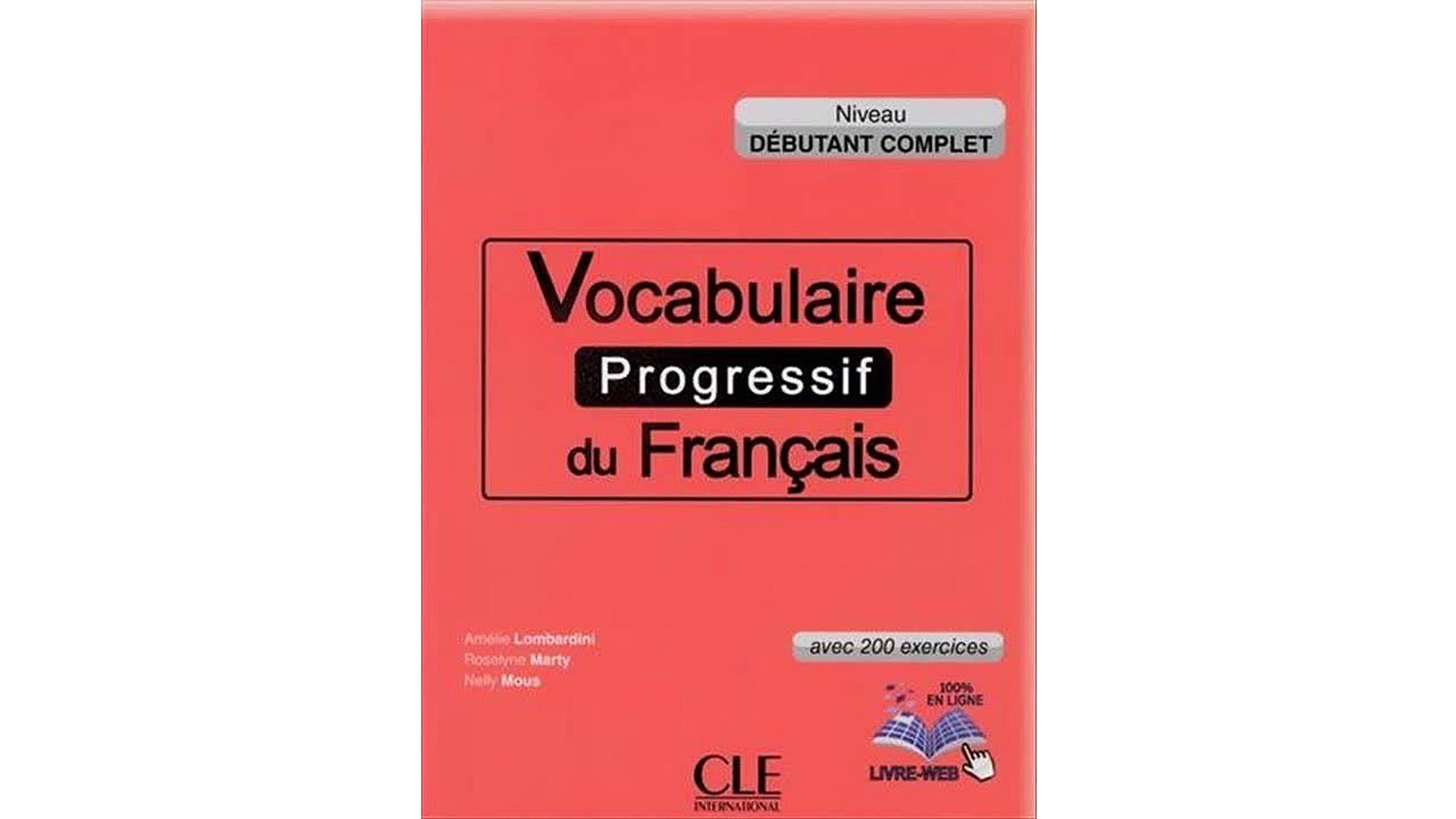 Telecharger Vocabulaire Progressif Du Francais Niveau Debutant Complet Livre Cd Livre Web