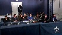 """Stéphane le Foll très étonné face aux journalistes lors de son point presse aujourd'hui : """"Vous n'êtes pas nombreux !"""""""