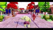FINGER FAMILY Song w/ Avengers Superheroes: Hulk, Iron Man & Thor! EPIC ADVENTURE Avengers