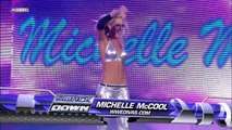 Kelly Kelly, Michelle McCool and Cherry vs. Natalya, Victoria and Maryse