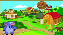 Cartoon game. Dora The Explorer - Dora Saves The Farm. Full Episodes in English 2016
