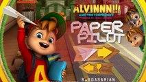 И Игры Новые функции бумага пилот в Alvin chipmunks alvin chipmunks 2016 hd